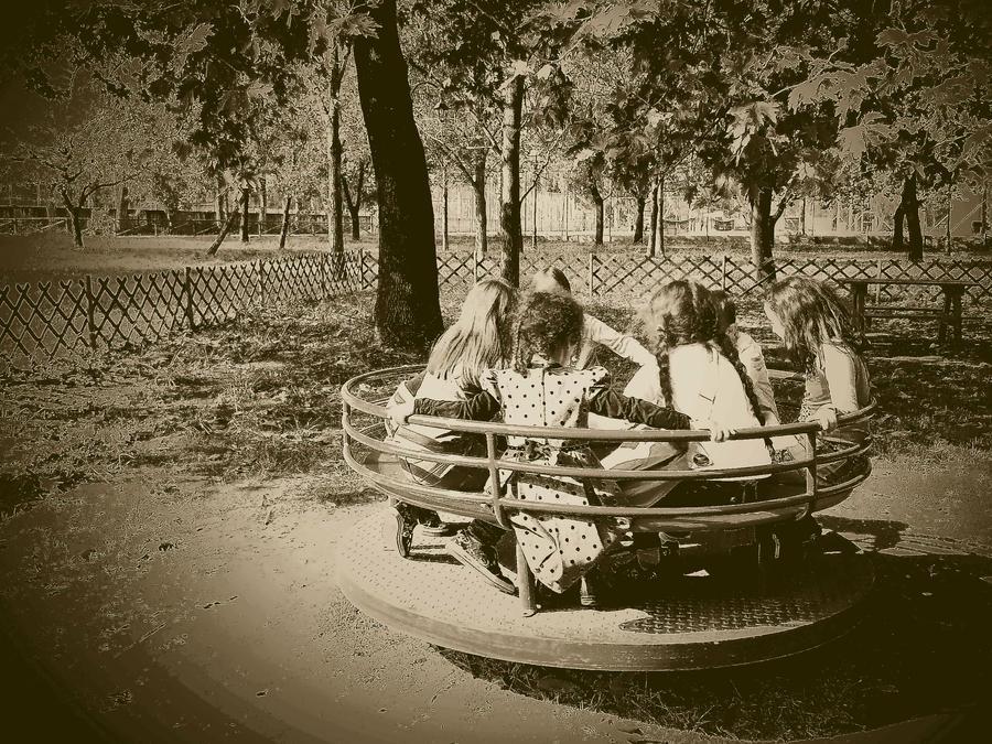 melancholic playground by AthenaHarlequin