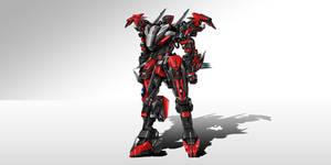 Fenryr (Front view - Shinobi mode)