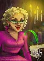 Rita Skeeter by enilorak