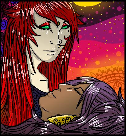 Good Night by QueenMandi
