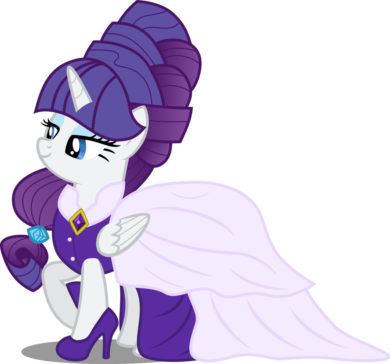 Princess Rarity By Atomicmillennial On Deviantart