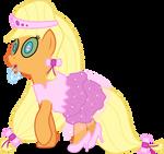 Commission: Hypnotized Applejack