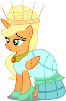 Princess Applejack by AtomicMillennial
