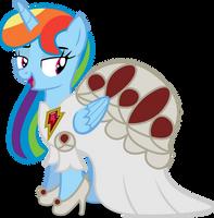 Princess Rainbow Dash by AtomicMillennial
