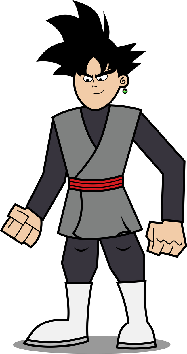 Commission: Goku Black in FOP Style by AtomicMillennial