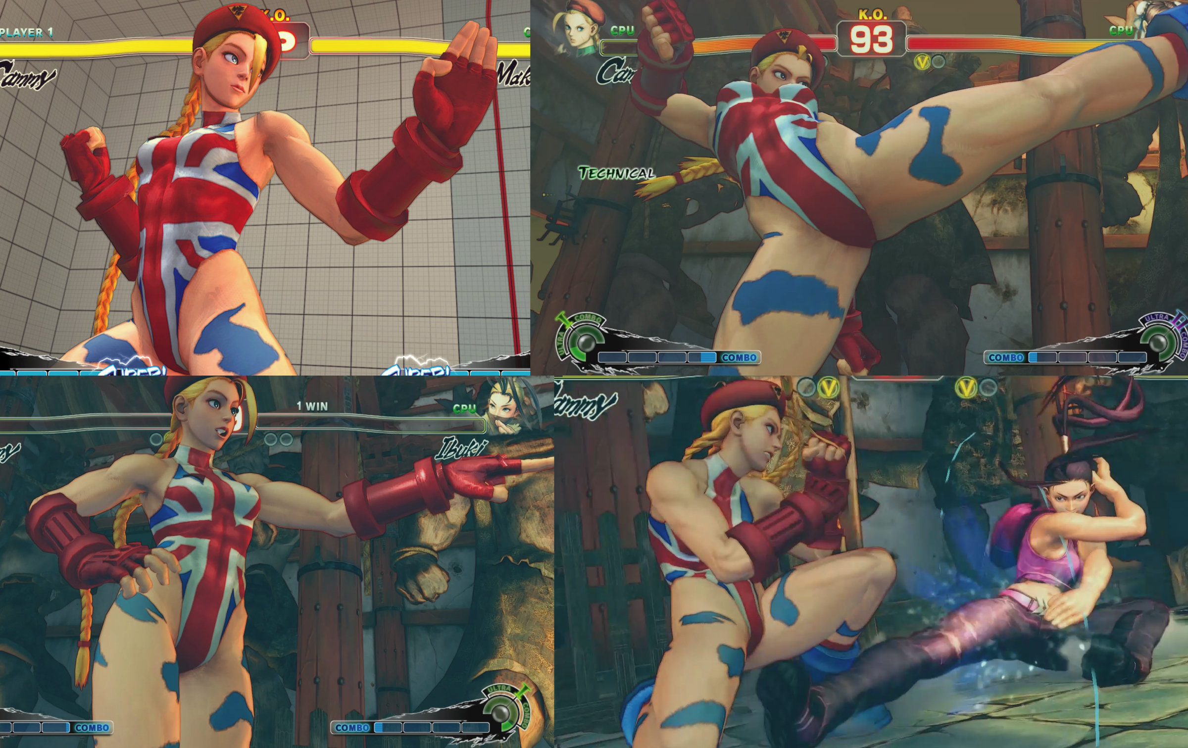 Cammy Great Britain Costume MOD Screenshot by YUKARIN2012