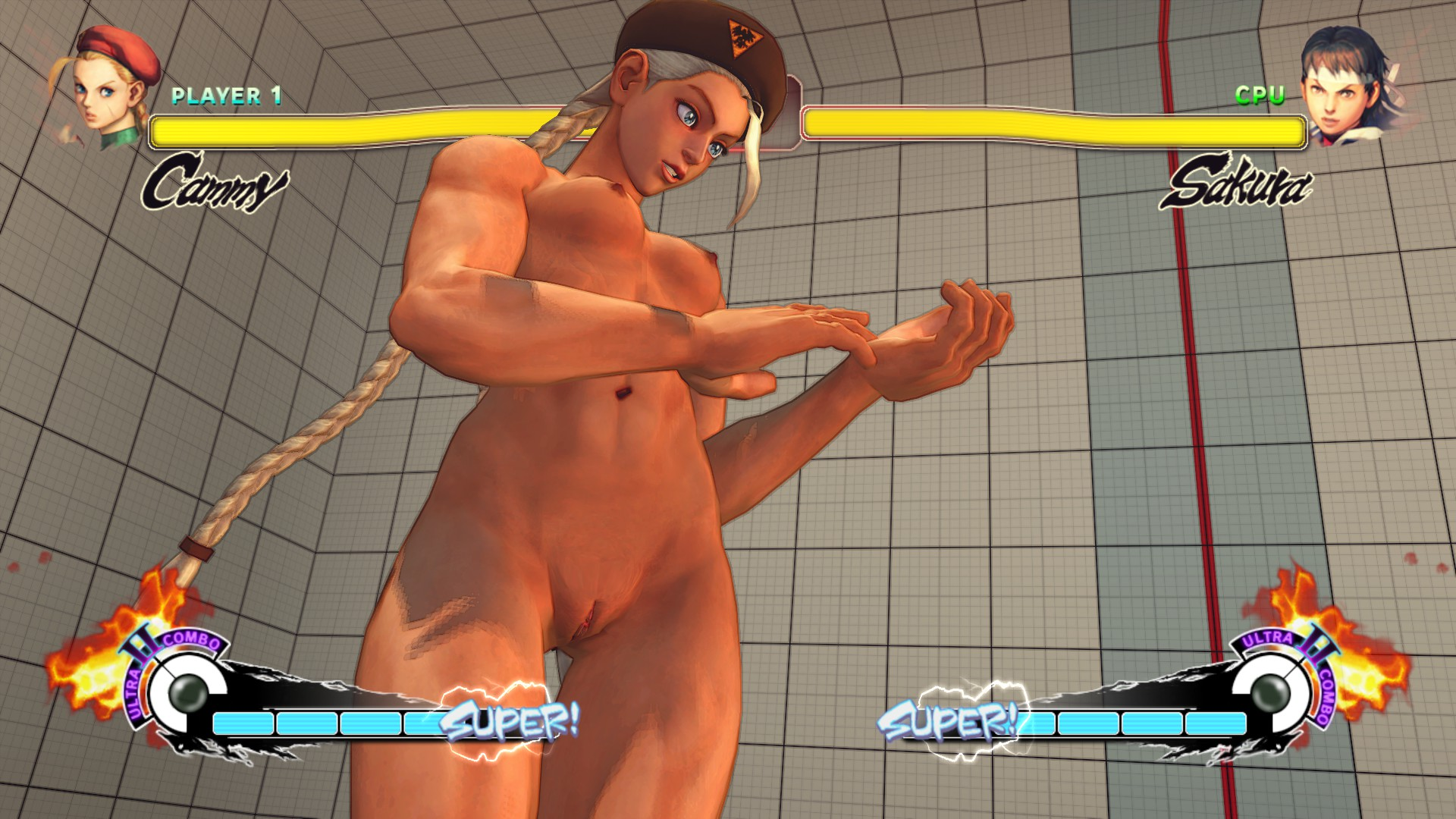 Street fighters nude smut cuties
