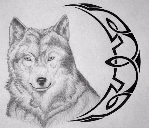 Wolf Tribal Tattoo 2 by ~Serpant02 on deviantART