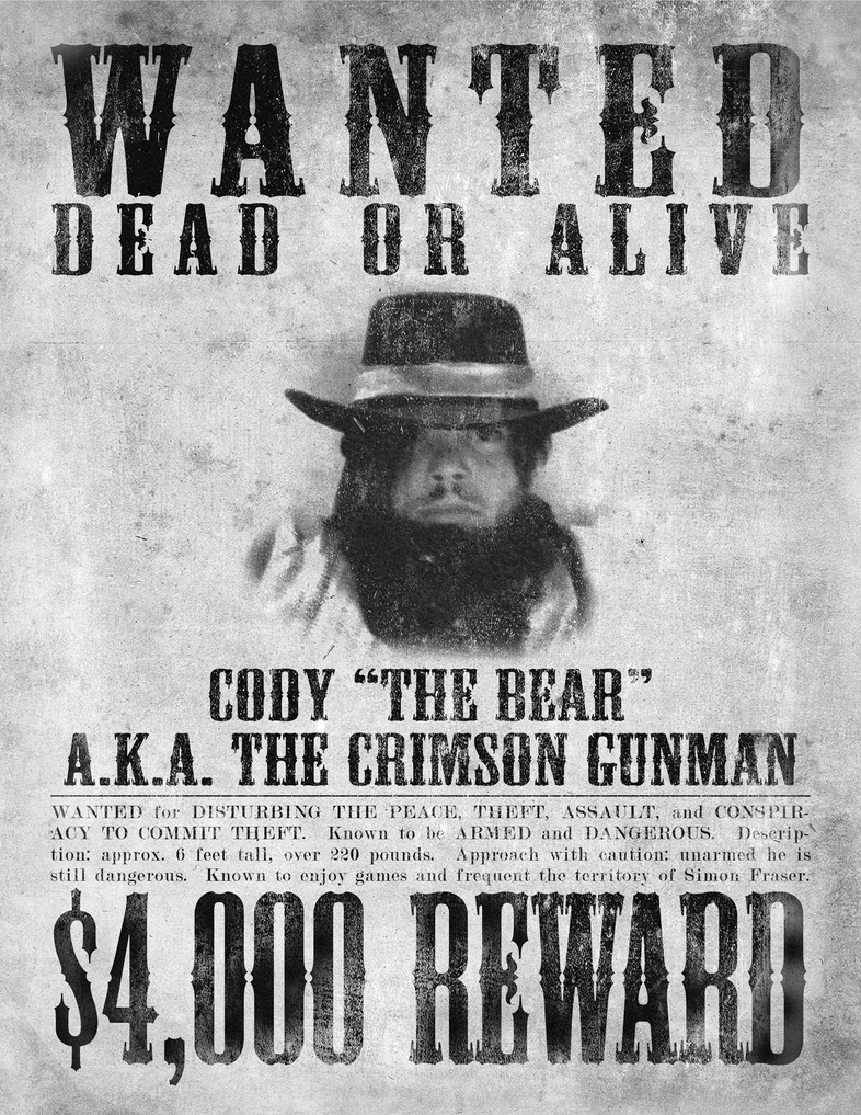 Wanted Poster - Halloween 2008 by Cody-Church on DeviantArt