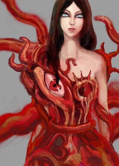 Flesh Maiden by suddenlle