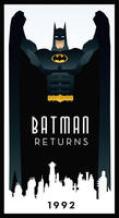 BATMAN RETURNS art deco
