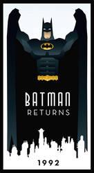 BATMAN RETURNS art deco