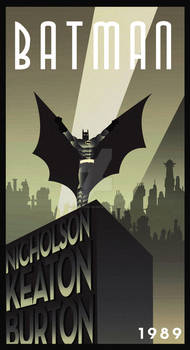 BATMAN MOVIE art deco