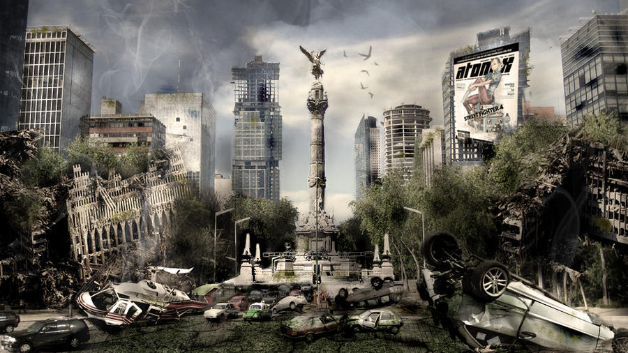 Mexico Post-Apocalyptic by rodolforever