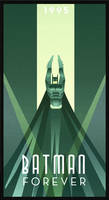 BATMAN FOREVER art deco