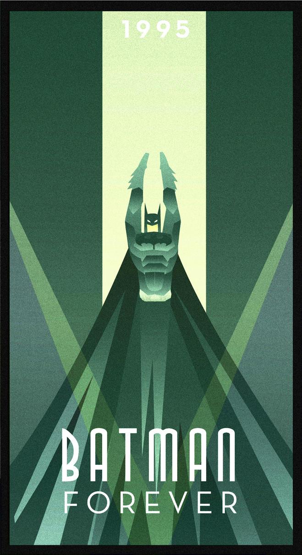 BATMAN FOREVER art deco by rodolforever
