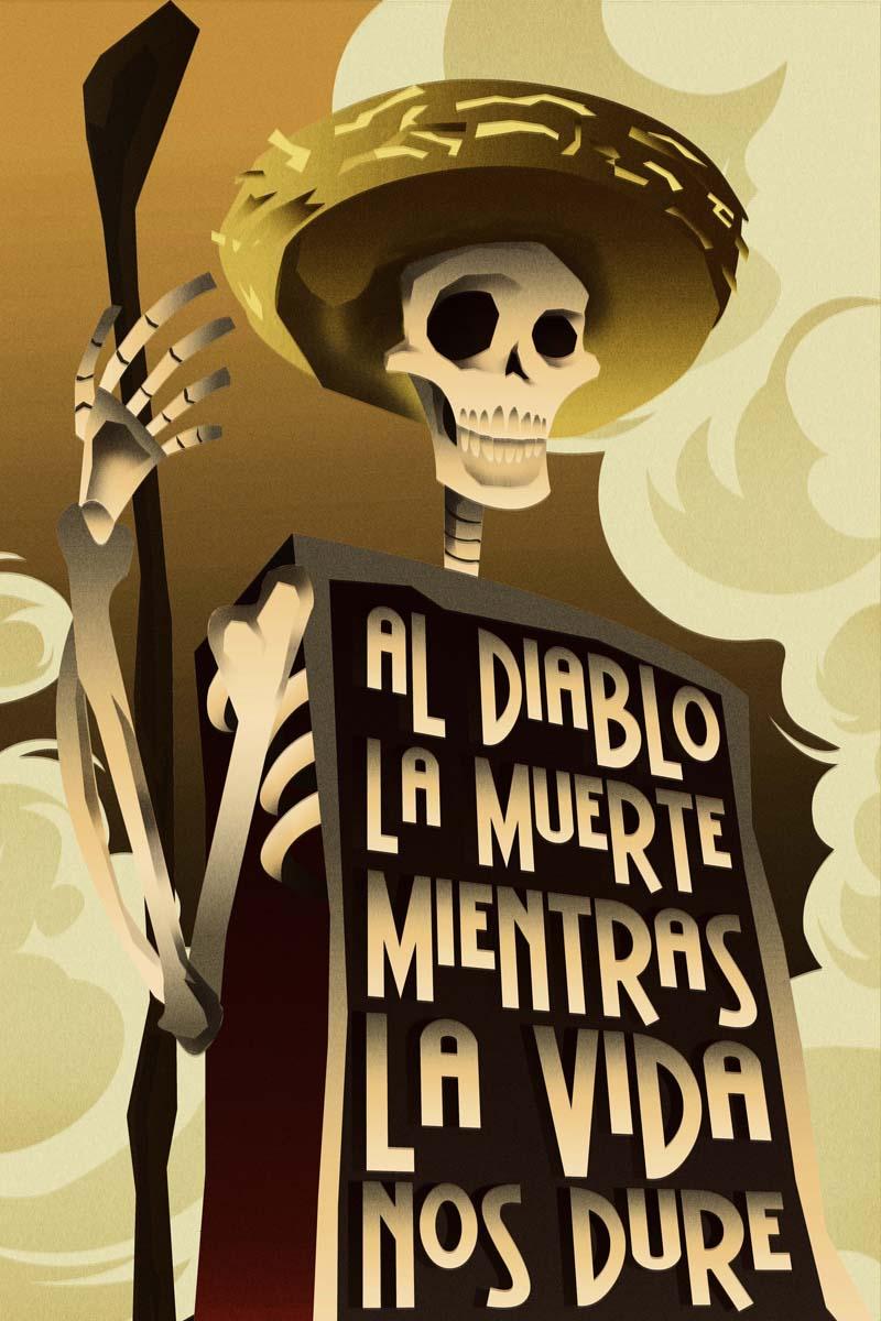 DIA DE MUERTOS poster by rodolforever