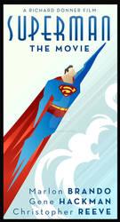 SUPERMAN MOVIE art deco
