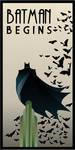 BATMAN BEGINS art deco by rodolforever