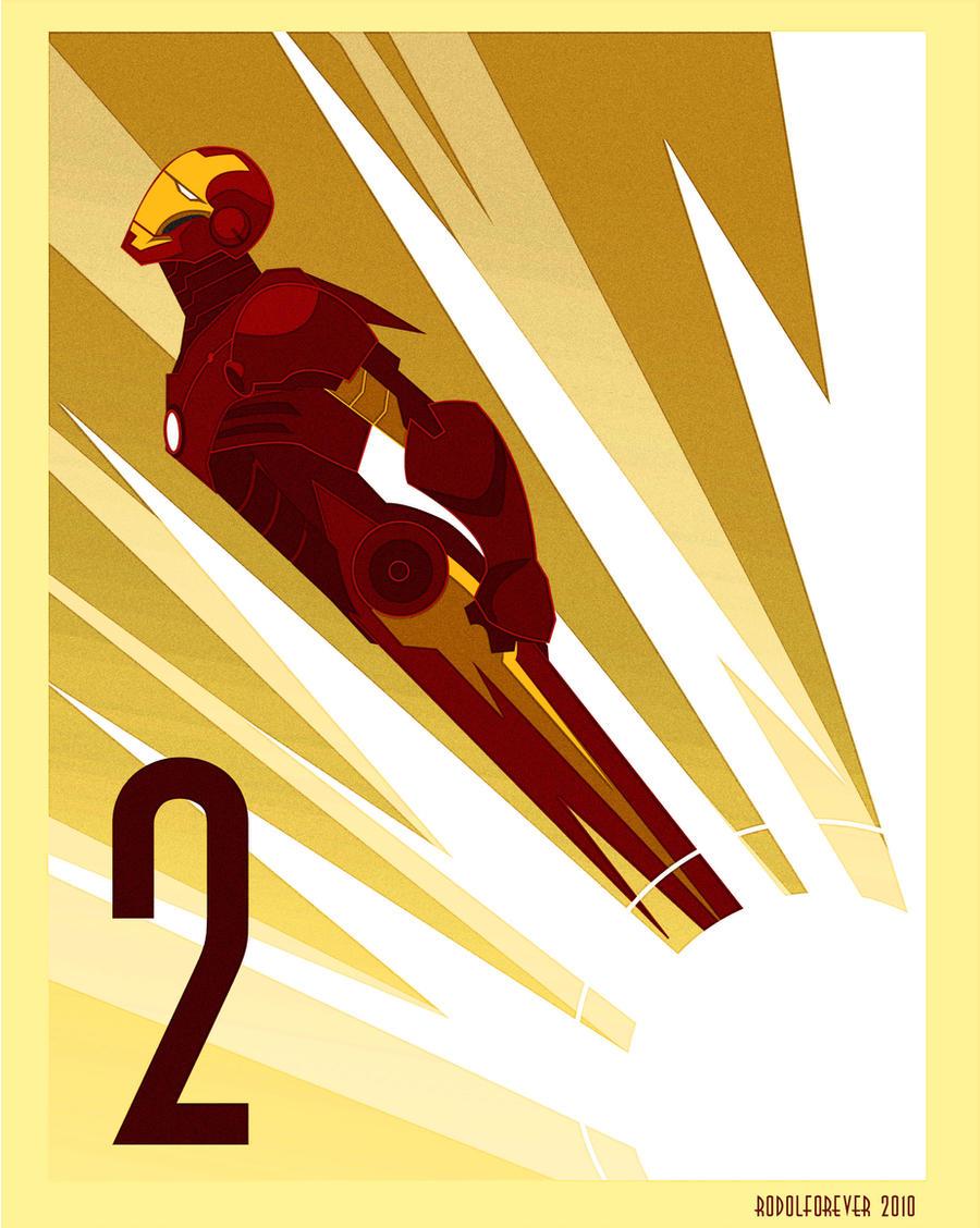 Iron man 2 art deco by rodolforever on deviantart for Art deco artists list