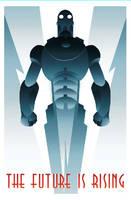 ROBOT 1 art deco by rodolforever