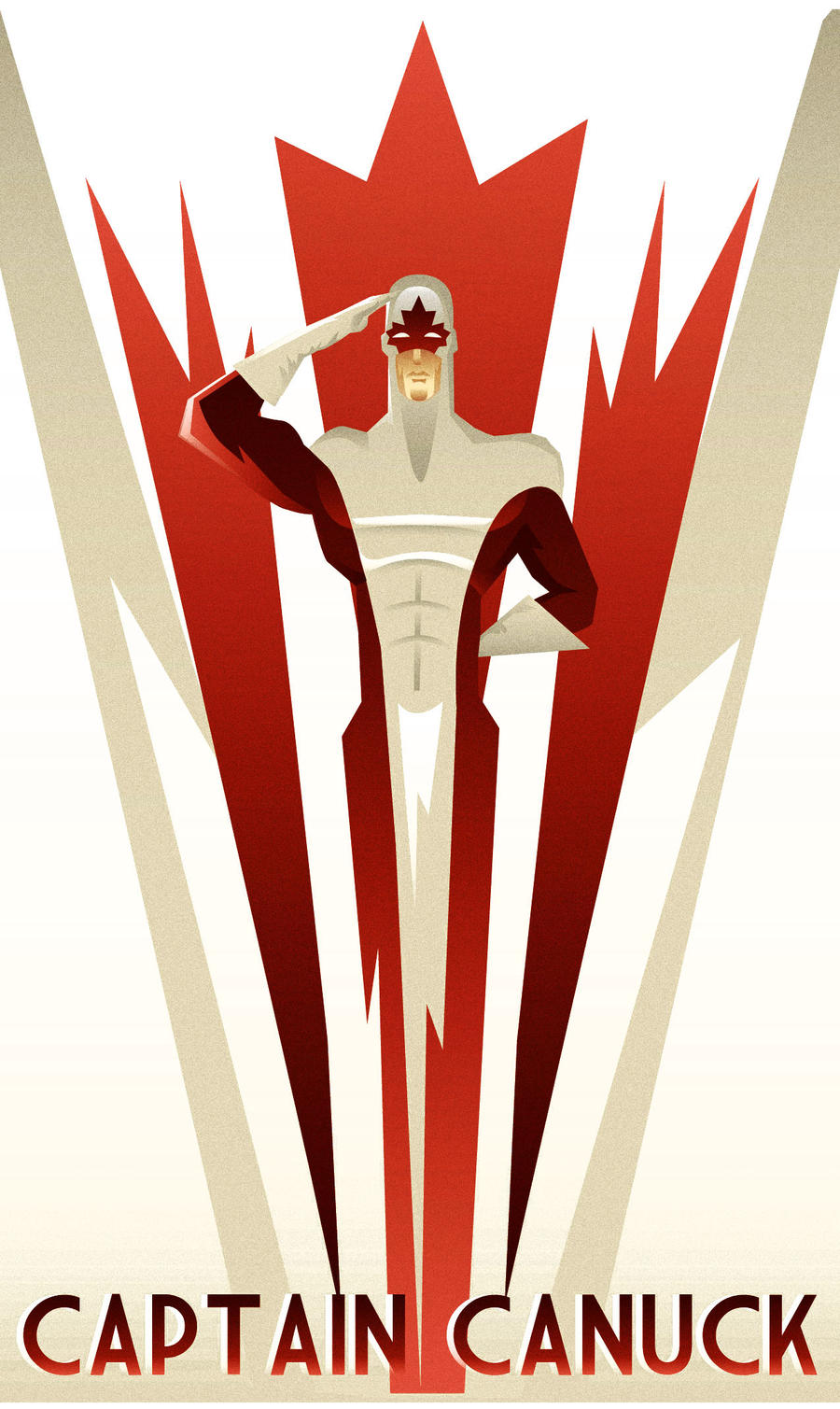 Captain Canuck by rodolforever