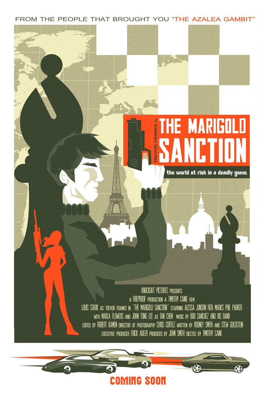 THE MARIGOLD SANCTION poster