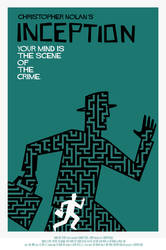 INCEPTION poster A by rodolforever