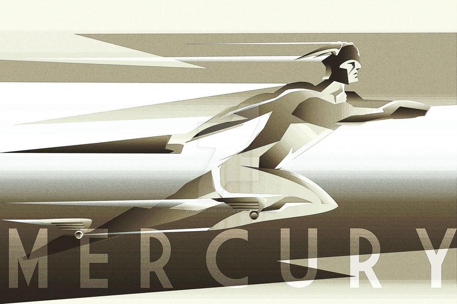 Mercury ART DECO by rodolforever