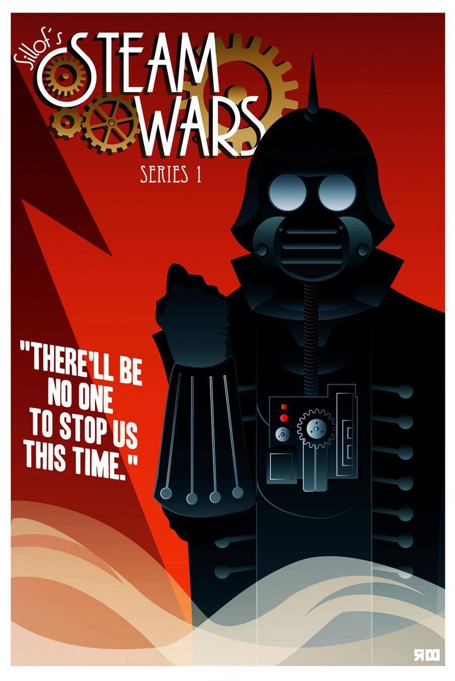 STEAM WARS poster