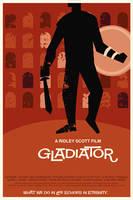 Gladiator film poster by rodolforever