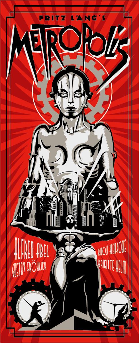 Metropolis RED PRINT by rodolforever