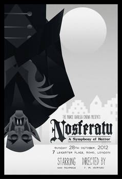 Nosferatu poster 2 (FOR SALE)