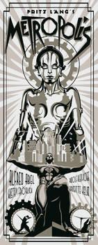 Metropolis silver version by rodolforever