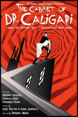 The Cabinet of Dr. Caligari (Print FOR SALE)
