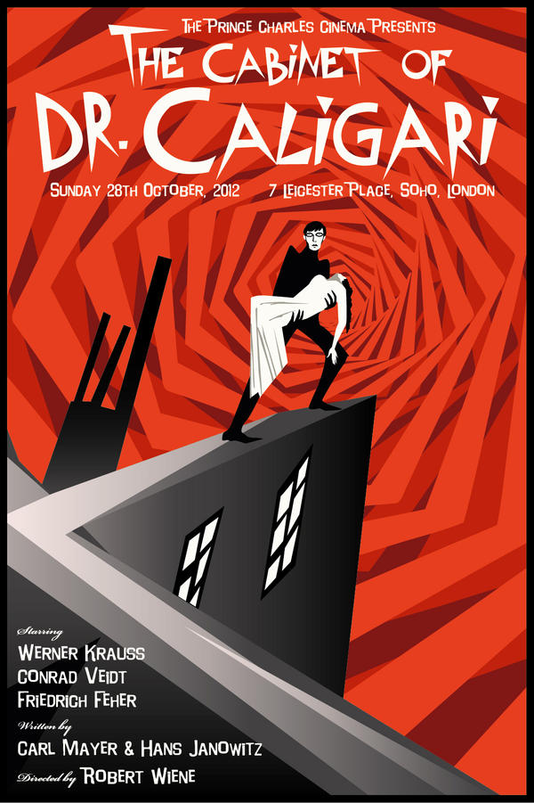The Cabinet of Dr. Caligari (Print FOR SALE) by rodolforever
