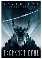 VNV Nation tour poster