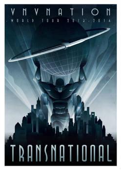 VNV Nation tour poster