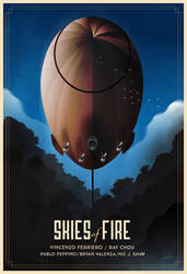 Skyes Of Fire Poster