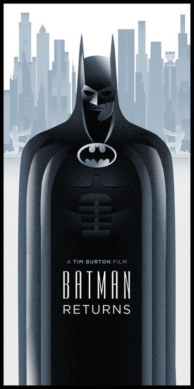 Batman Returns Poster by rodolforever