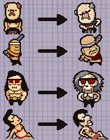 Lisa the painful - rough old people by Mckodem