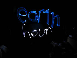 Earth Hour by iruka11