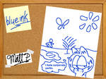 Blue Ink- Garfield's Adventures in Logorama