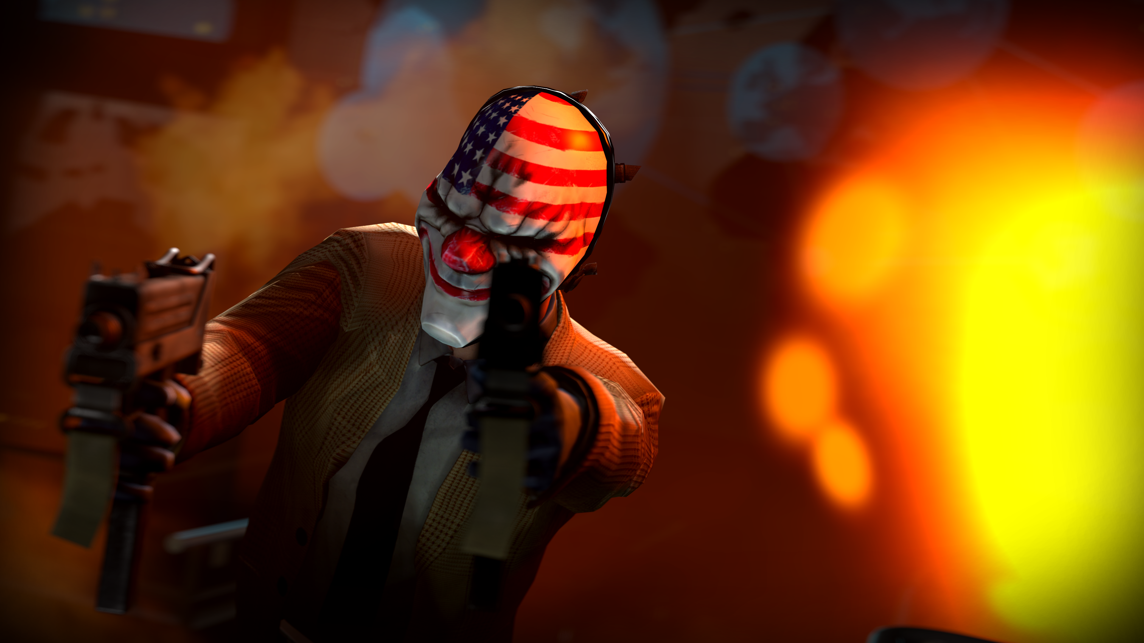 payday wallpaper wolf
