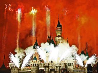 Disney Fireworks by LeightonLee