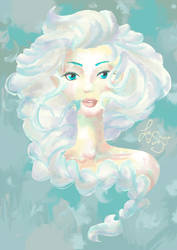 The Snow Queen by Lady-Shugo