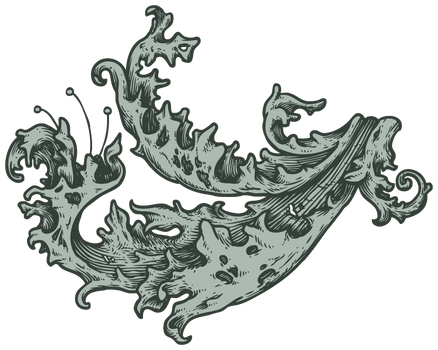 Ornate Pattern (lined) for Ornate Typography Tute