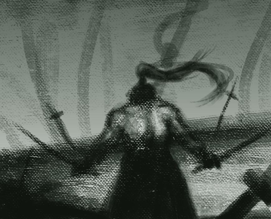 Warrior sketch by Dav56