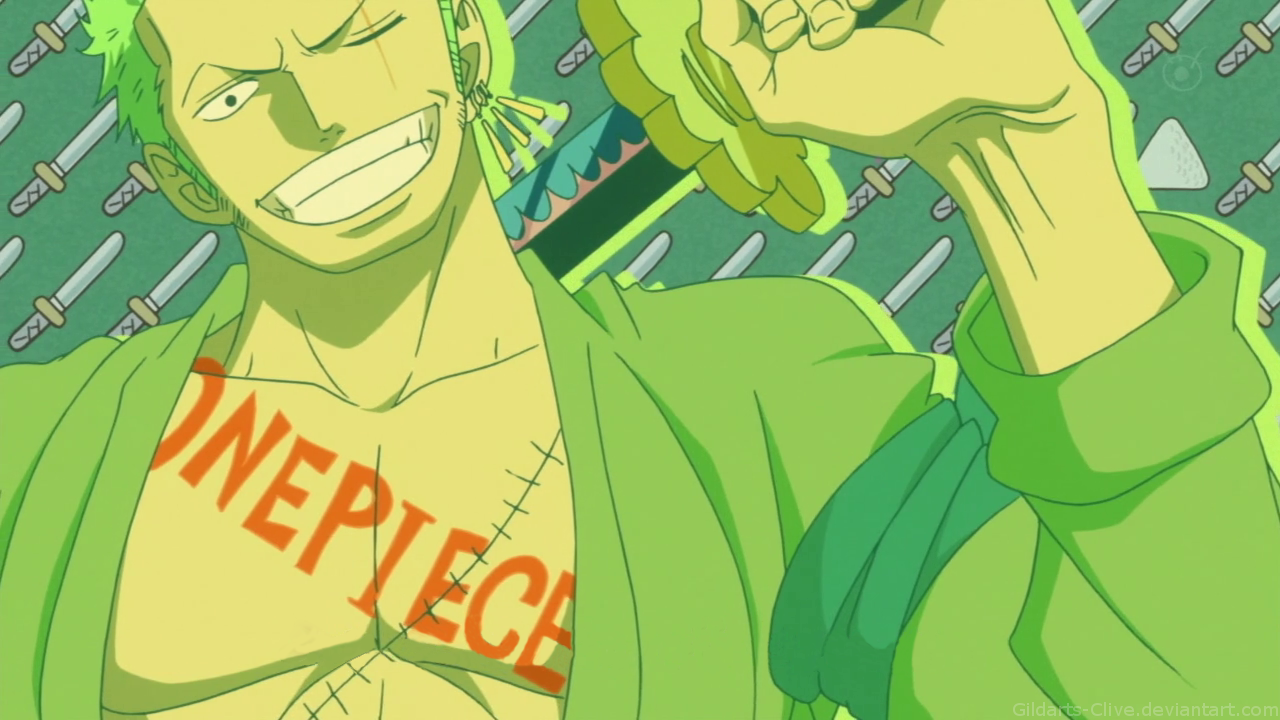 One Piece Zoro 720p Wallpaper By Gildarts Clive