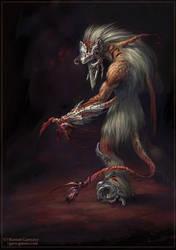Greyhead monster by Guro